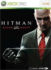 Box cover for Hitman: Blood Money on the Microsoft Xbox 360.