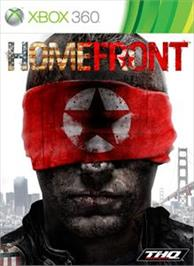 Box cover for Homefront on the Microsoft Xbox 360.