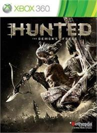 Box cover for Hunted Demons Forge on the Microsoft Xbox 360.