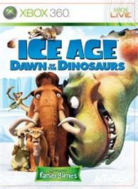 Box cover for Ice Age 3 on the Microsoft Xbox 360.