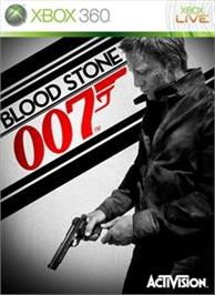 Box cover for James Bond 007: Blood Stone on the Microsoft Xbox 360.