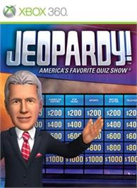 Box cover for Jeopardy! on the Microsoft Xbox 360.