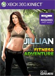 Box cover for Jillian Michael's Fitness Adventure on the Microsoft Xbox 360.