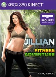 Box cover for Jillian Michaels Fitness Adventure on the Microsoft Xbox 360.