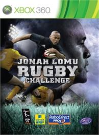 Box cover for Jonah Lomu Rugby Challenge on the Microsoft Xbox 360.