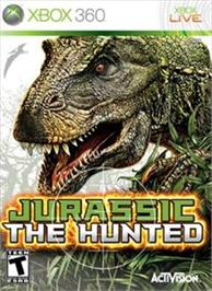 Box cover for Jurassic: The Hunted on the Microsoft Xbox 360.