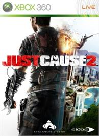Box cover for Just Cause 2 on the Microsoft Xbox 360.