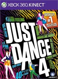 Box cover for Just Dance® 4 on the Microsoft Xbox 360.