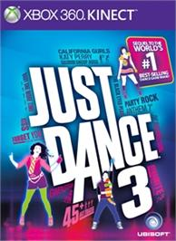 Box cover for Just Dance 3 on the Microsoft Xbox 360.