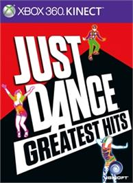 Box cover for Just Dance Greatest Hits on the Microsoft Xbox 360.