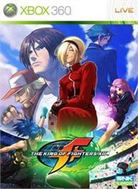 Box cover for KOF XII on the Microsoft Xbox 360.