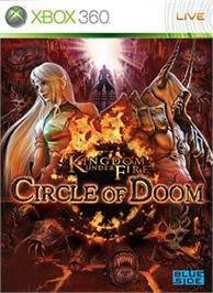Box cover for KUF: Circle of Doom on the Microsoft Xbox 360.