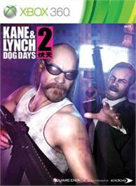 Box cover for Kane & Lynch 2 on the Microsoft Xbox 360.