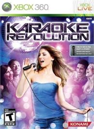 Box cover for Karaoke Revolution on the Microsoft Xbox 360.