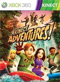 Box cover for Kinect Adventures! on the Microsoft Xbox 360.