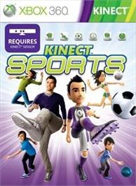 Box cover for Kinect Sports on the Microsoft Xbox 360.