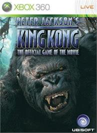 Box cover for King Kong on the Microsoft Xbox 360.