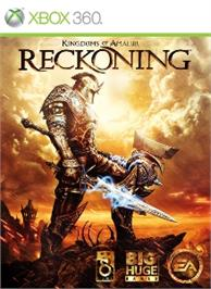 Box cover for Kingdoms of Amalur: Reckoning on the Microsoft Xbox 360.