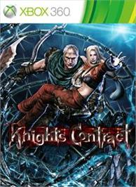 Box cover for Knights Contract on the Microsoft Xbox 360.