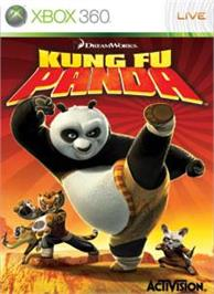 Box cover for Kung Fu Panda on the Microsoft Xbox 360.