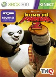 Box cover for Kung Fu Panda 2 on the Microsoft Xbox 360.