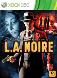 Box cover for L.A. Noire on the Microsoft Xbox 360.