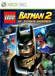 Box cover for LEGO® Batman 2 on the Microsoft Xbox 360.
