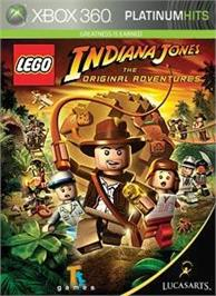 Box cover for LEGO® Indiana Jones on the Microsoft Xbox 360.