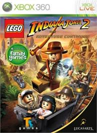Box cover for LEGO® Indiana Jones 2 on the Microsoft Xbox 360.