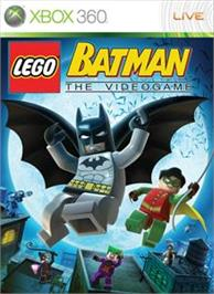 Box cover for LEGO Batman on the Microsoft Xbox 360.