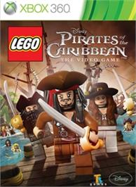 Box cover for LEGO Pirates of the Caribbean: The Video Game on the Microsoft Xbox 360.