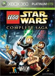 Box cover for LEGO Star Wars: TCS on the Microsoft Xbox 360.