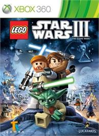 Box cover for LEGO Star Wars III on the Microsoft Xbox 360.