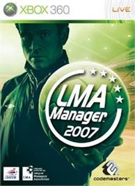 Box cover for LMA Manager 2007 on the Microsoft Xbox 360.