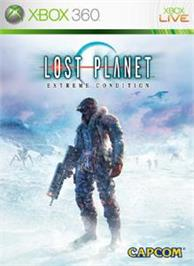 Box cover for LOST PLANET on the Microsoft Xbox 360.