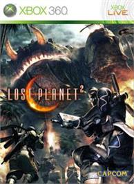 Box cover for LOST PLANET 2 on the Microsoft Xbox 360.