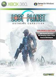 Box cover for LOST PLANET COLONIES on the Microsoft Xbox 360.