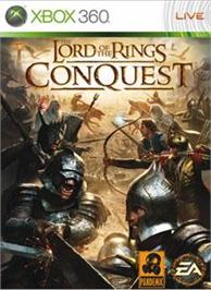 Box cover for LOTR: Conquest on the Microsoft Xbox 360.
