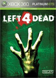 Box cover for Left 4 Dead on the Microsoft Xbox 360.