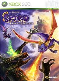 Box cover for Legend of Spyro on the Microsoft Xbox 360.