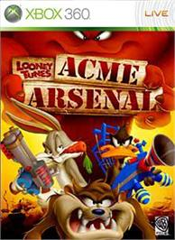 Box cover for Looney Tunes: AA on the Microsoft Xbox 360.