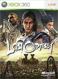 Box cover for Lost Odyssey on the Microsoft Xbox 360.