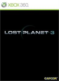 Box cover for Lost Planet 3 on the Microsoft Xbox 360.