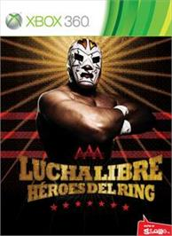 Box cover for Lucha Libre AAA on the Microsoft Xbox 360.