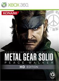 Box cover for MGS PW HD on the Microsoft Xbox 360.