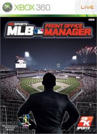 Box cover for MLB® Front Office Mgr on the Microsoft Xbox 360.