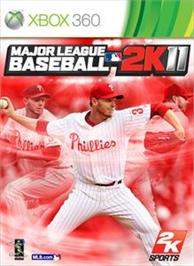 Box cover for MLB 2K11 on the Microsoft Xbox 360.