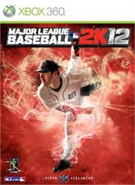 Box cover for MLB 2K12 on the Microsoft Xbox 360.