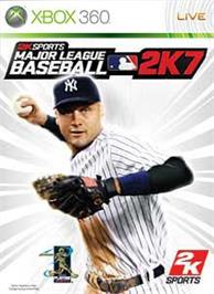 Box cover for MLB 2K7 on the Microsoft Xbox 360.