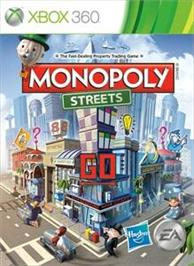 Box cover for MONOPOLY® Streets on the Microsoft Xbox 360.